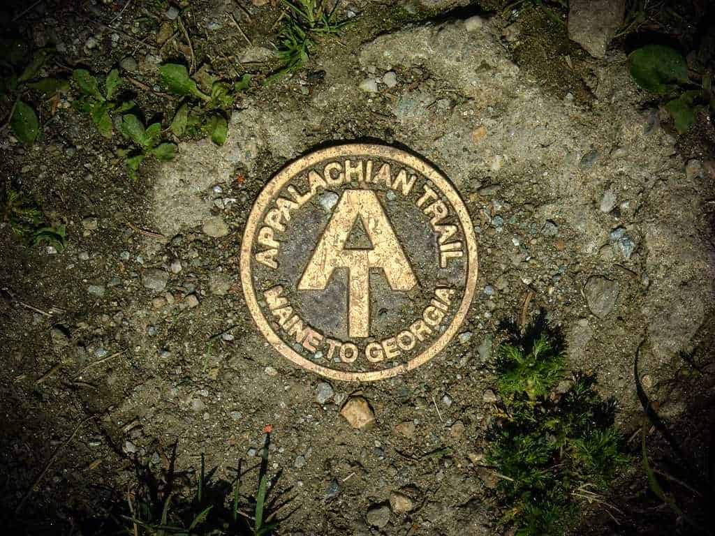 hike the appalachian trail marker