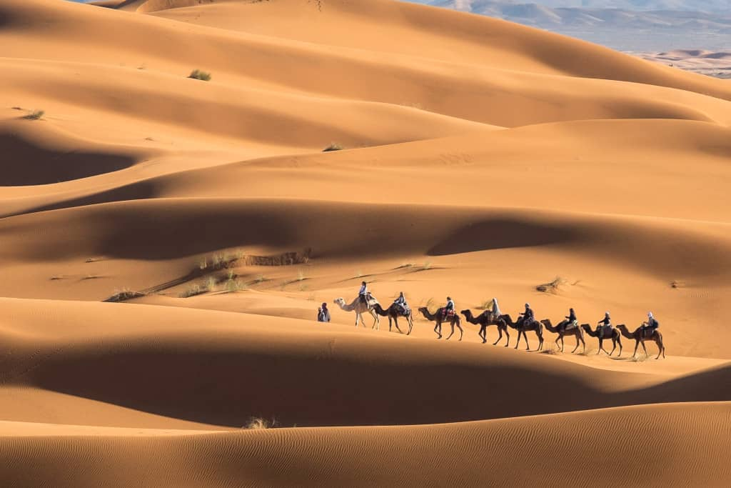 travel in the middle east