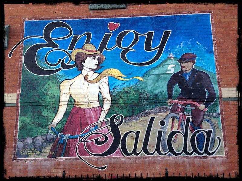 Enjoy Salida Wall Art