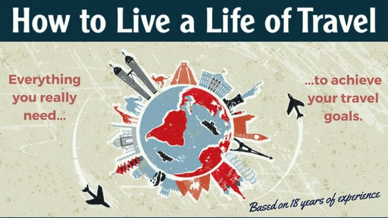 How To Live A Life Of Travel Book