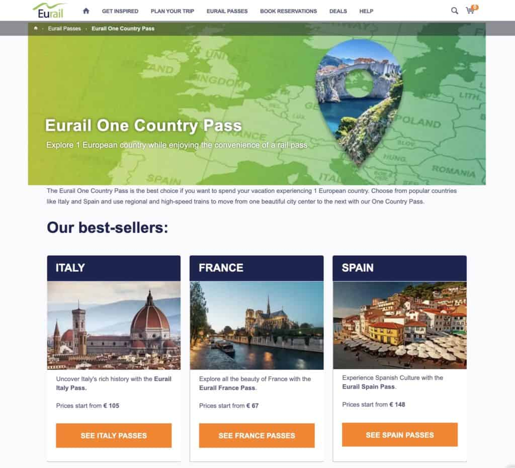 Eurail Pass - The One Country Pass