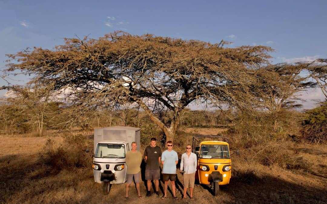 Adventure and Conservation: A 6000 km Tuk Tuk Journey Through Africa
